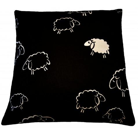 Poszewka bawełniana owce
